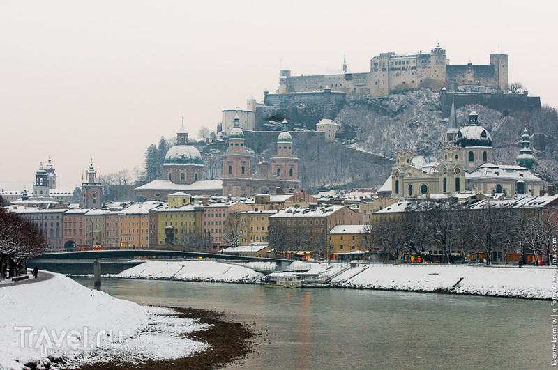 Мост Мюлльнер-Штег в Зальцбурге / Фото из Австрии