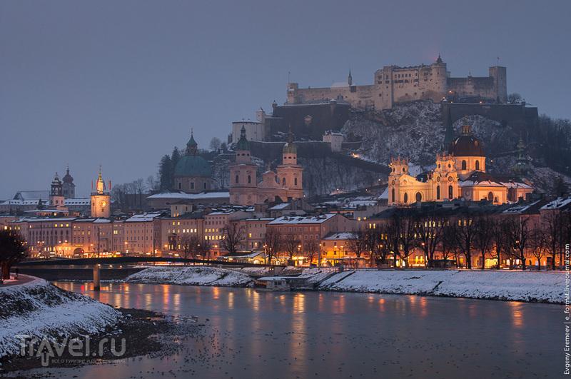 Крепость Хоэнзальцбург в Зальцбурге / Фото из Австрии