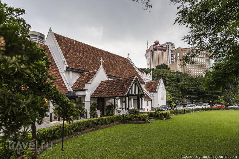 Англиканская церковь Святой Марии в Куала-Лумпуре / Фото из Малайзии