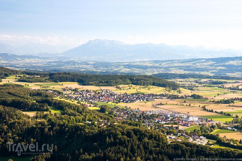 Гора Утлиберг, Швейцария / Фото из Швейцарии