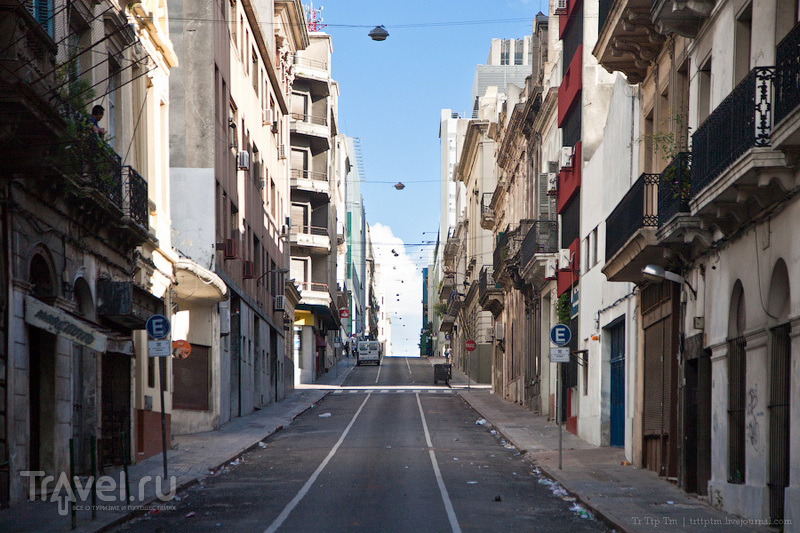 Безлюдные кварталы постновогоднего Монтевидео / Фото из Уругвая
