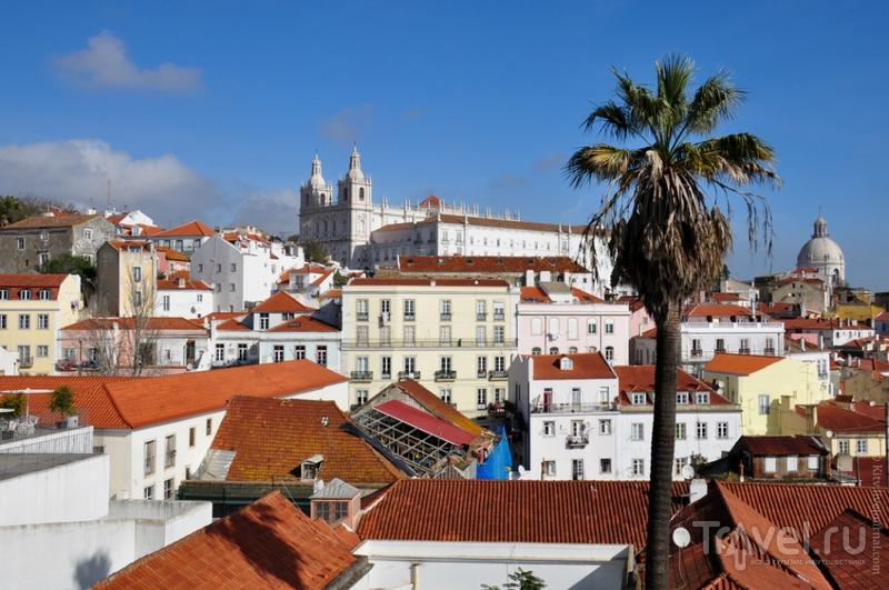 Вид на католическую церковь Святого Антония, Лиссабон / Фото из Португалии