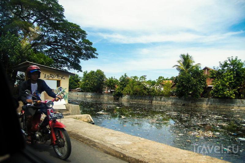 Река Мас в Сурабаи, Индонезия / Фото из Индонезии