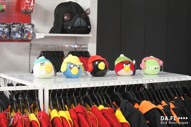 Angry Birds - парк на Вуокатти