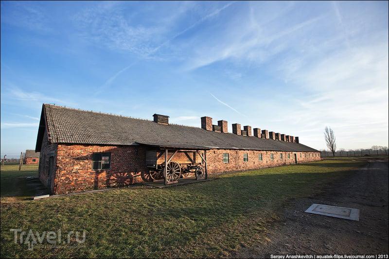 Нацистские бараки ада. Концлагеря Аушвиц и Аушвиц-Биркенау / Фото из Польши
