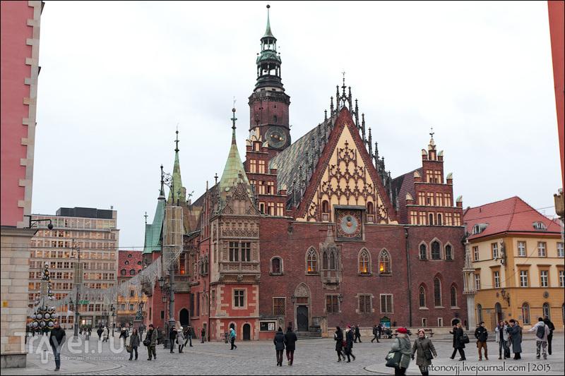 Городская Ратуша во Вроцлаве / Фото из Польши
