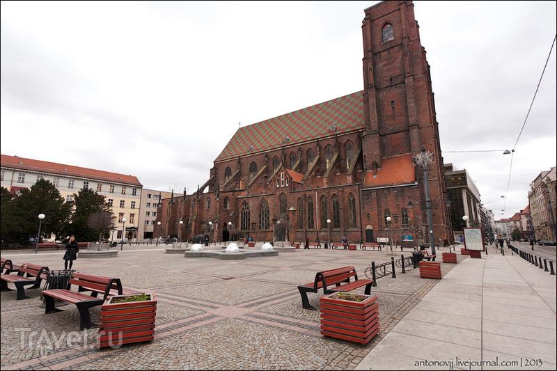 Костел Марии Магдалины во Вроцлаве / Фото из Польши
