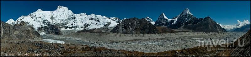 Ледник Нгозумба / Фото из Непала