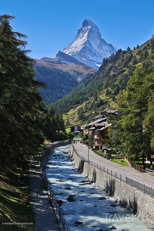 Пик Маттерхорн, Швейцария / Фото из Швейцарии
