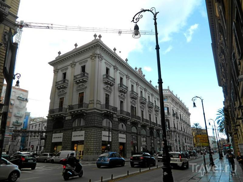 Улица via Roma.в Палермо, Италия / Фото из Италии