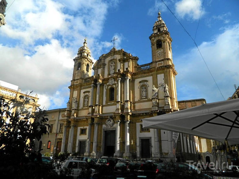 Церковь святого Доминика.в Палермо, Италия / Фото из Италии