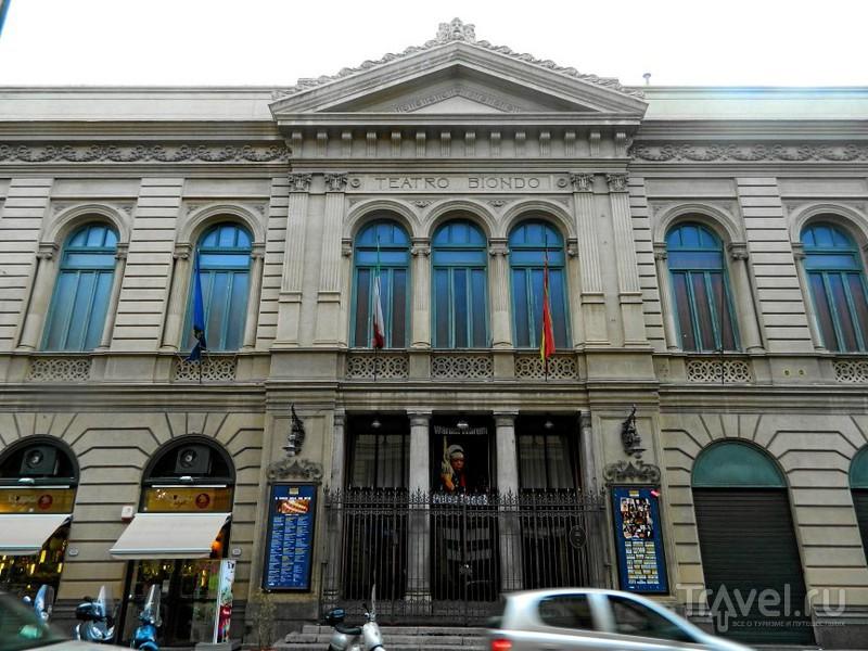 Teatro Biondo.в Палермо, Италия / Фото из Италии