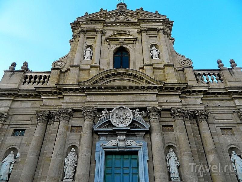 Церковь Santa Teresa alla Kalsa.в Палермо, Италия / Фото из Италии