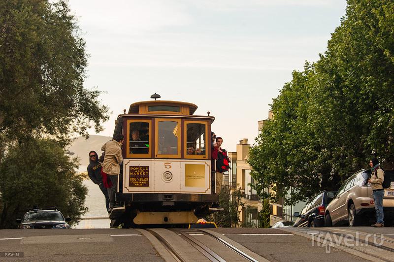 Трамвай в Сан-Франциско / Фото из США