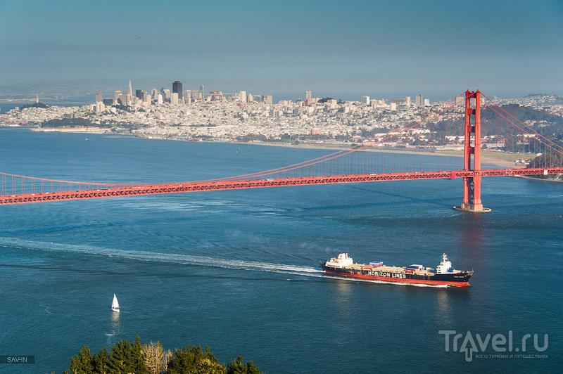 """Мост """"Золотые ворота"""" в Сан-Франциско / Фото из США"""