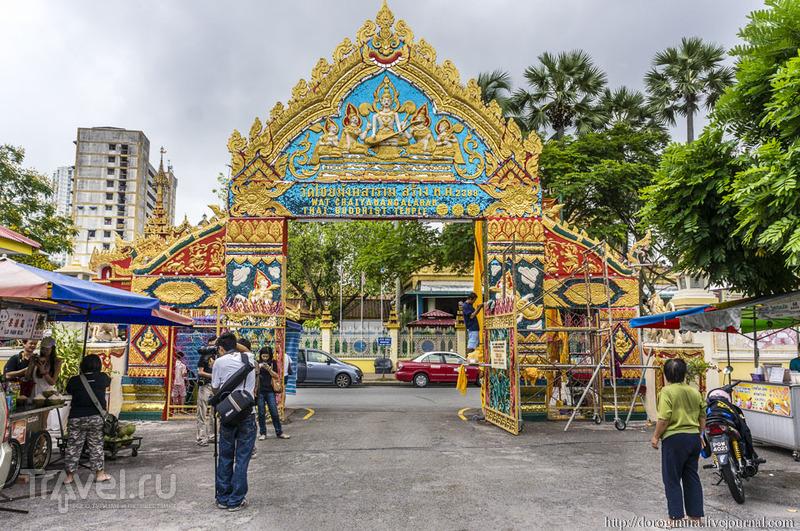 Храм Ват Чайамангкаларам на Пенанге / Фото из Малайзии