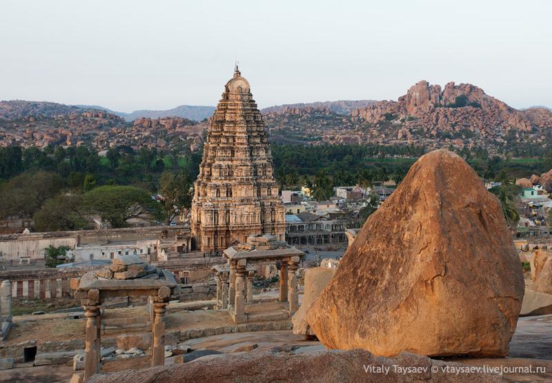 Храм Вирупакши, Индия / Фото из Индии