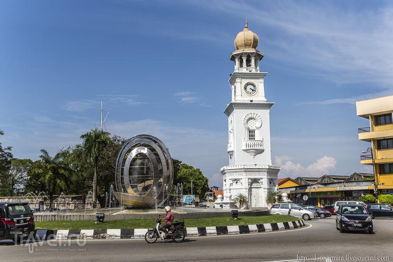 Часовая башня Виктория в Джорджтауне / Фото из Малайзии