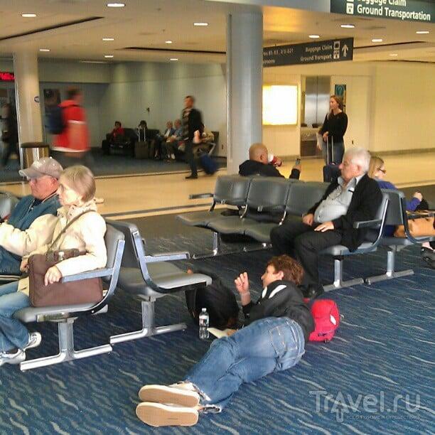 Соединенные Штаты Америки: на самолетах и автобусах / США