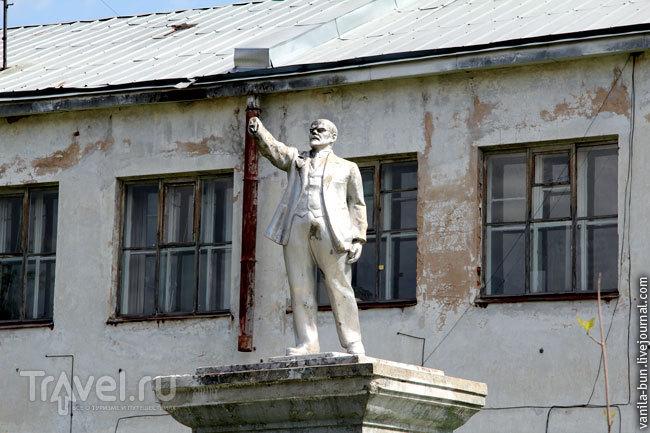 Памятник Ленину в Вышнем Волочке / Фото из России