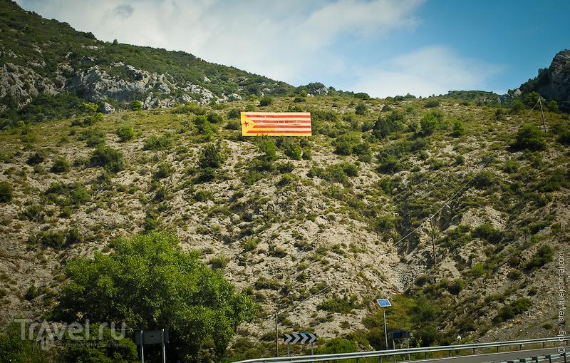 Каталонский флаг / Фото из Испании