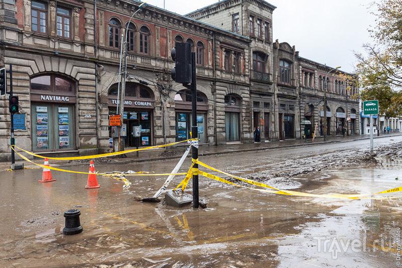 Пунта-Аренас: после наводнения / Фото из Чили