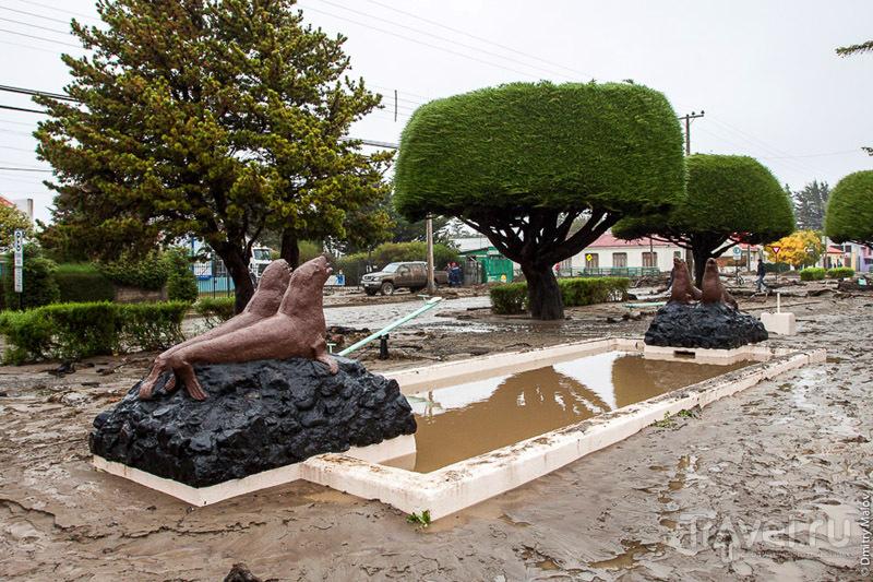 Памятник Магеллану в Пунта-Аренасе, Чили / Фото из Чили