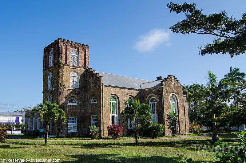 Собор Святого Иоанна в Белизе / Фото из Белиза