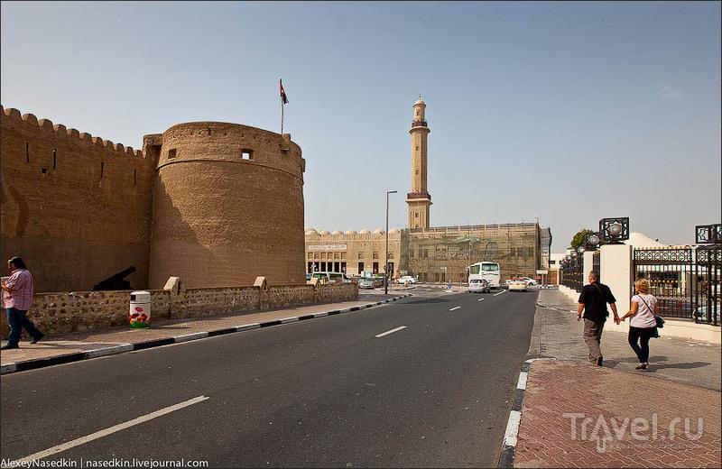 Форт на берегу залива в Дубае / Фото из ОАЭ