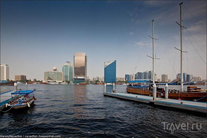 Залив Дубай-Крик / Фото из ОАЭ