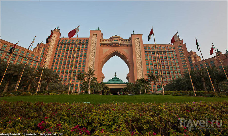 "Гостиница ""Атлантис"" в Дубае / Фото из ОАЭ"