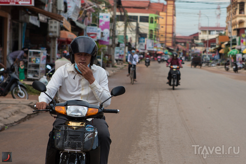 В городке Сиемриеп, Камбоджа / Фото из Камбоджи