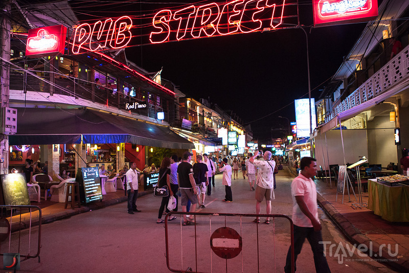 Pab Street в Сиемриепе, Камбоджа / Фото из Камбоджи