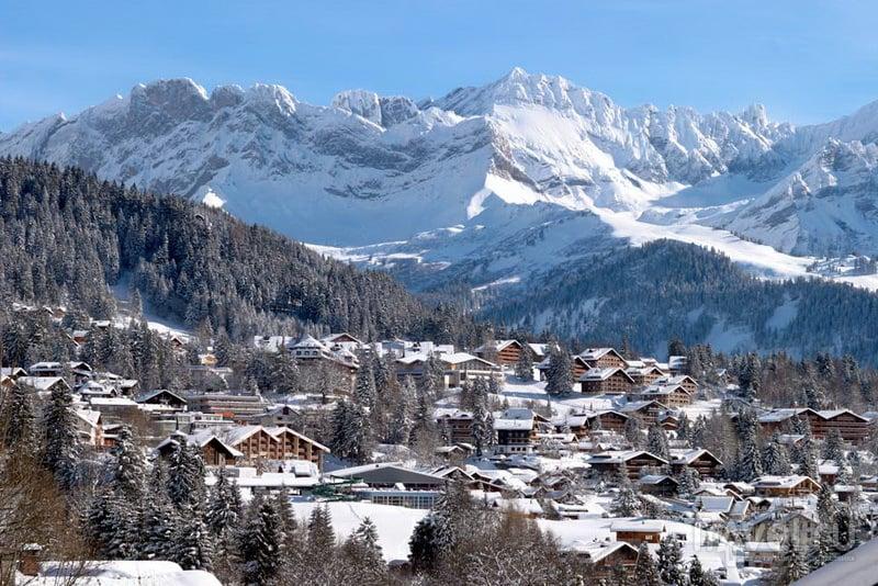 Виллар, кантон Во. Швейцария