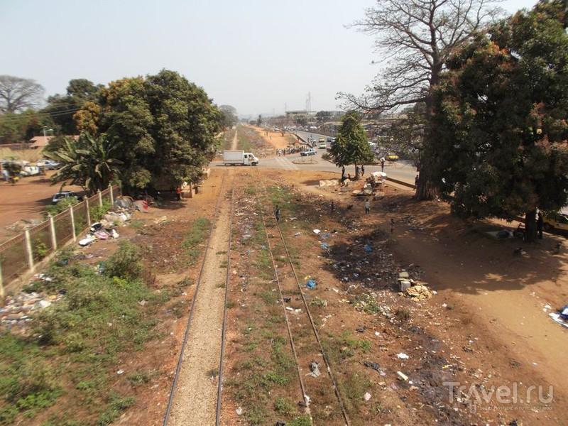 Мусорная столица. Гуляю по Конакри / Гвинея