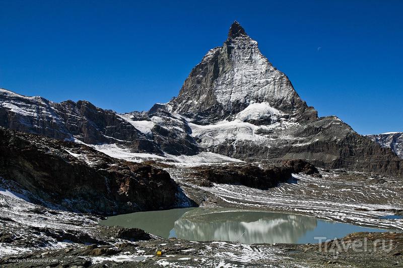Подъем на Klein Matterhorn / Фото из Швейцарии