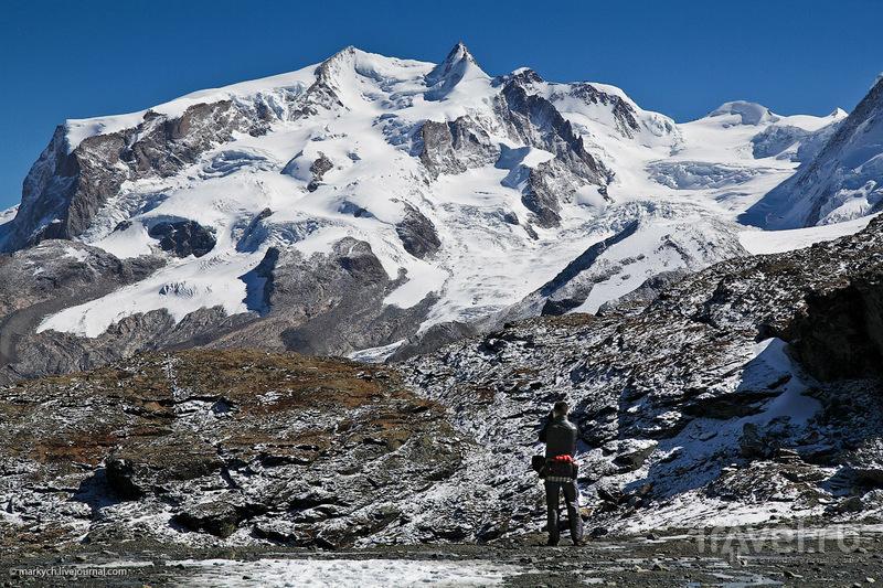 Гора Monte Rosa, Швейцария / Фото из Швейцарии