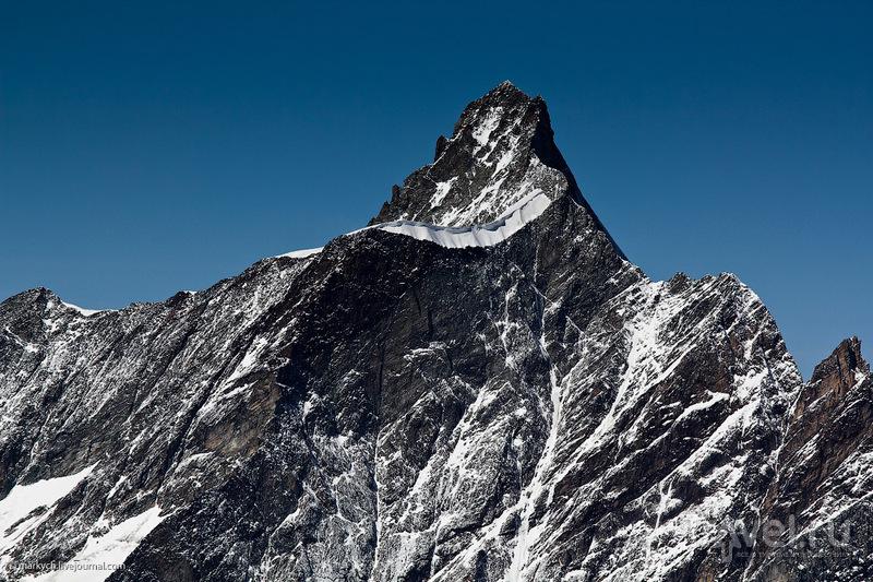 Гора Dent d'Herens, Швейцария / Фото из Швейцарии