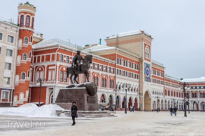 Здание Национальной художественной галереи в Йошкар-Оле / Фото из России