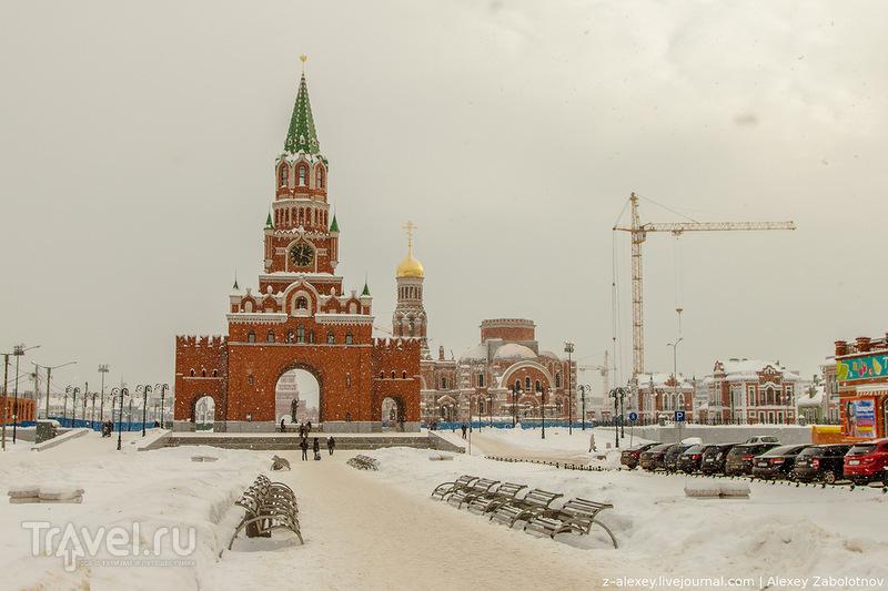 Благовещенская башня в Йошкар-Оле / Фото из России