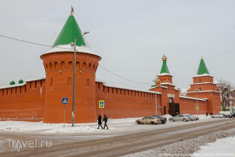 Царевококшайский кремль в Йошкар-Оле / Фото из России