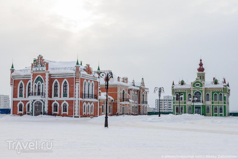 Архангельская слобода в Йошкар-Оле / Фото из России