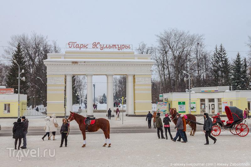 Парк культуры в Йошкар-Оле / Фото из России