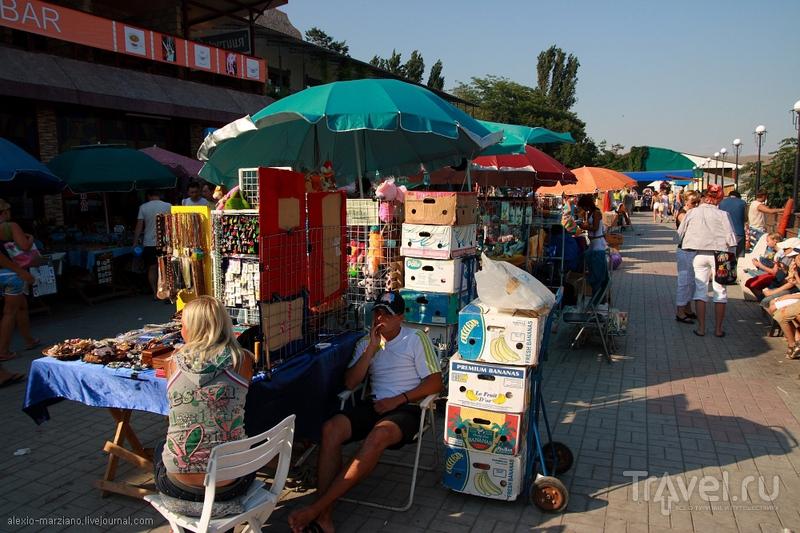 Набережная в Коктебеле / Фото с Украины