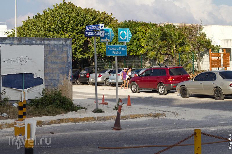 Бульвар Kukulcan в Канкуне / Фото из Мексики