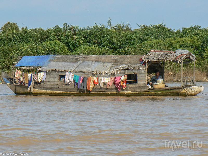 """Водные люди и камбоджийский """"Байкал"""". Тонлесап, Камбоджа / Камбоджа"""