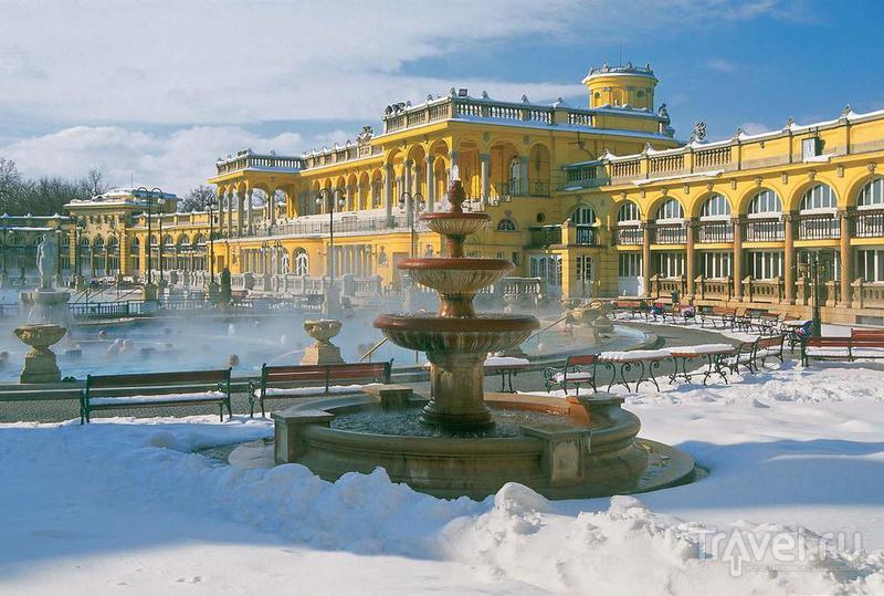 Полное погружение. Термальные купальни в Будапеште / Венгрия