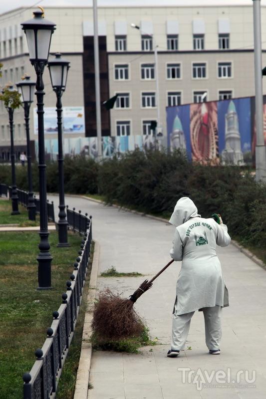 На улицах Грозного чисто / Фото из России