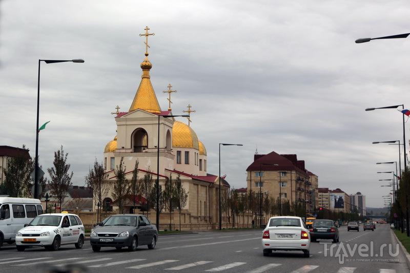 Скромный православный храм в Грозном / Фото из России