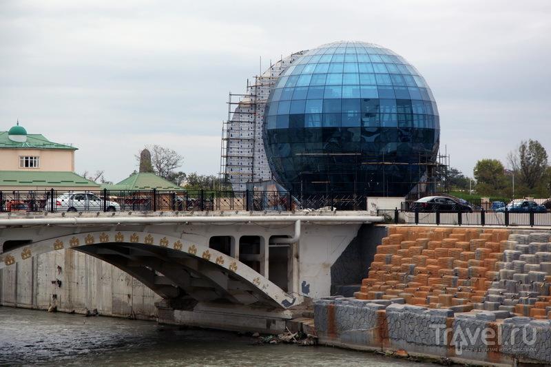 Строящийся спортивный объект / Фото из России